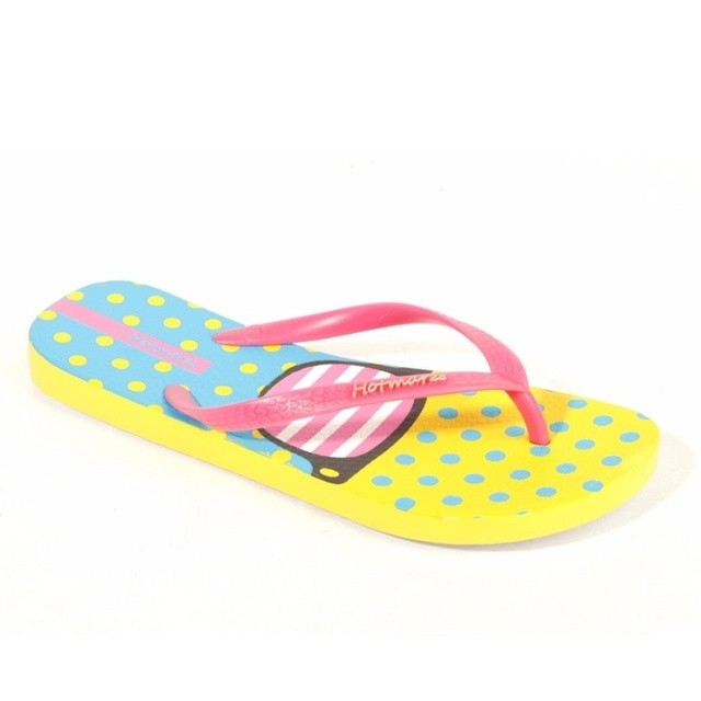 Hotmarzz Women Fashion Flip Flops Beach Slippers Summer House Shoes Woman Flat Sandals Glasses Print Female Home Slippers 10