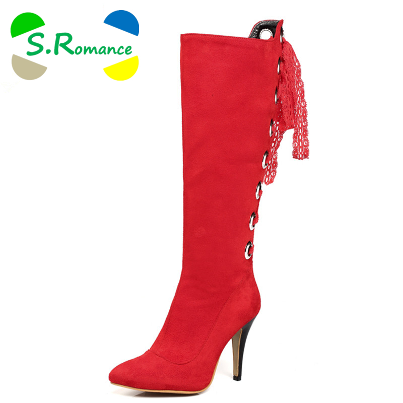 Popular Red Spiked Heels-Buy Cheap Red Spiked Heels lots from ...