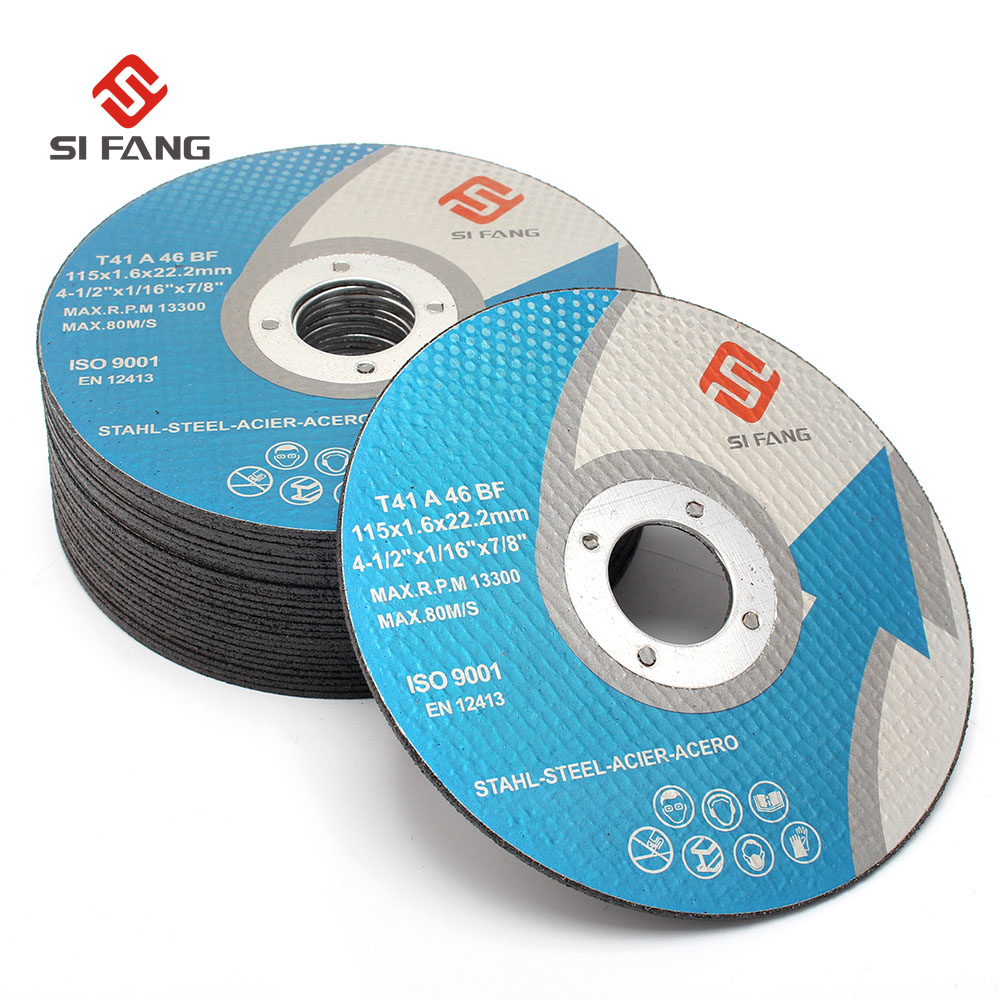 "Flap Disc 115mm 4 1//2/"" Silicon Carbid Abrasive for Angle Grinders Per 5"