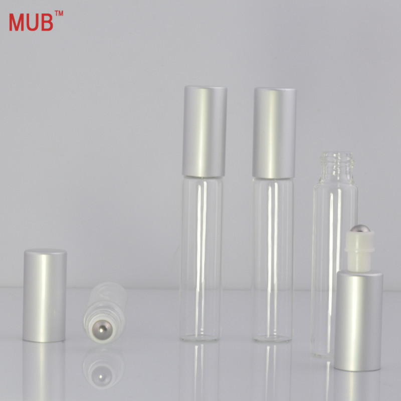 Hot Selling 10 ml (12 pieces/lot) Roller Ball Glass Bottle For Essential Oils With High Quality 10 CC Metal Roll on Bottles 2 pieces lot 500ml monteggia gas washing bottle porous tube lab glass gas washing bottle muencks