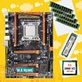 Korting HUANAN ZHI X79 moederbord met M.2 128G NVMe SSD moederbord met CPU Xeon E5 2660 V2 SR1AB RAM 4*8G DDR3 1600 REG ECC