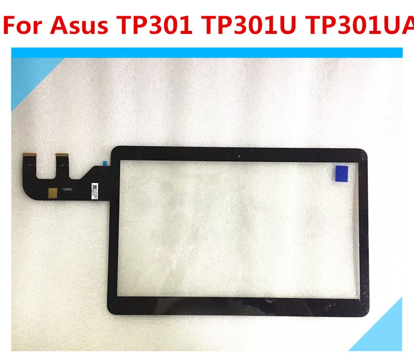 "13.3"" Touch Screen Digitizer Glass Sensor Panel Laptop Housings Touchpads Replacement Parts for Asus Q303 Q303UA TP301U TP301UA"