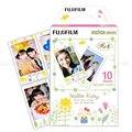 100% genuino 10 hojas de fujifilm instax mini 8 film hello kitty foto papel Para 8 7 s 90 25 dw 50 s 50i Compartir SP-1 Instantánea cámaras