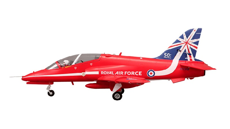 FMS RC Airplane Bae Hawk Red Arrow 80mm Ducted Fan EDF Jet 6CH 6S with Flaps Retracts EPO PNP Hobby Model Plane Aircraft Avion