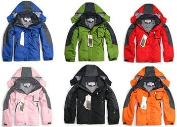brand 2layers Children winter ski snowboard sport jacket/kids hoodie casual coat,windproof waterproof jacket/4Y-14Y - Ashin Chan store