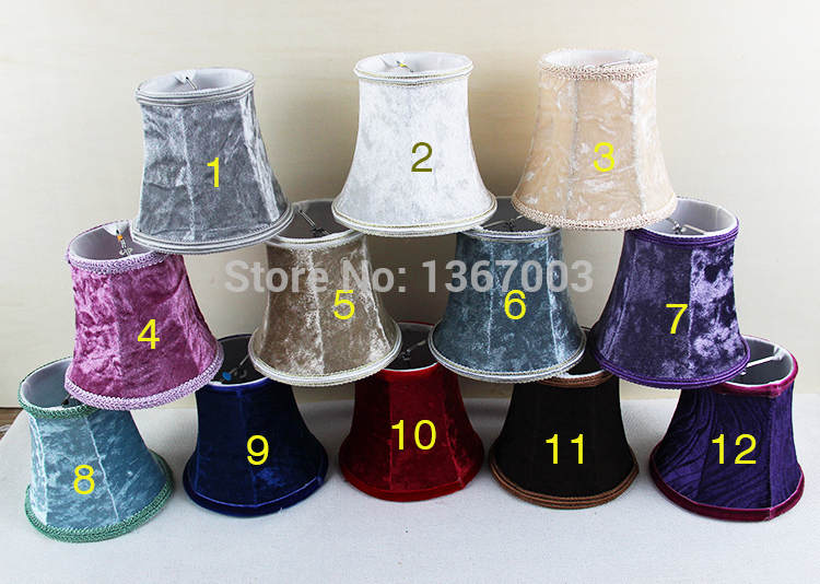 flannel purple, red,blue,white trendy lamp shades styles, candle ...