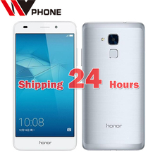 "Wv original huawei honor 5c kirin 650 octa core 4g lte fdd teléfono móvil 5.2 ""FHD 1080 P 13.0MP Smartphone de metal"
