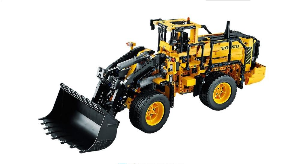 NEW bricks 20006 technic series 1636pcs Volvo L350F wheel loader Model Building blocks Bricks Compatible 42030 boy gift car ToyS