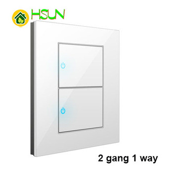 86 Type White Tempered glass Switch 1 2 3 4 gang 1 2 way Lizard Point Switch Comuter TV Telephone Socket Household Wall Switch 16