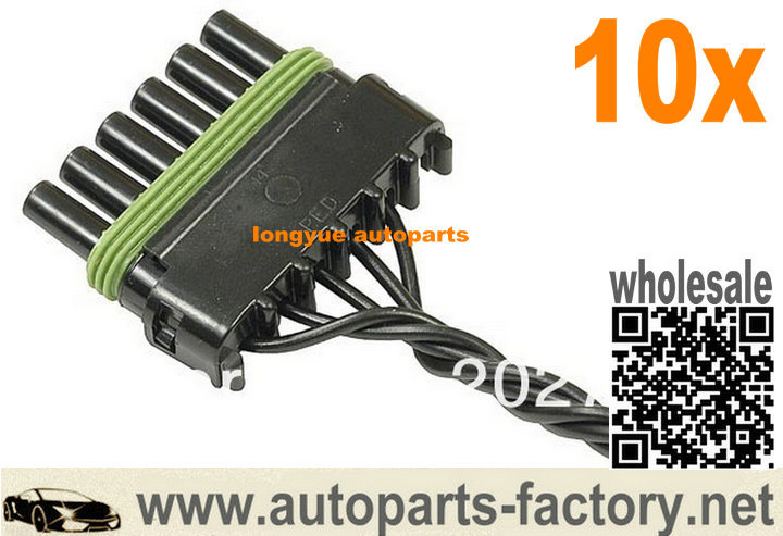 compare prices on repair wiring harness online shopping buy low longyue 10pcs fuel tank selector valve repair connector 6 pin female socket wiring harness 12