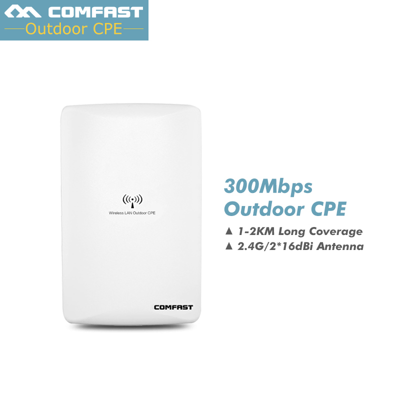 High power wireless AP COMFAST CF-E316N 802.11 b/g/n outdoor WiFi cover base station 300Mbps WiFi routers 16dBi Antenna fangling ks01 stainless steel cuticle nipper silver