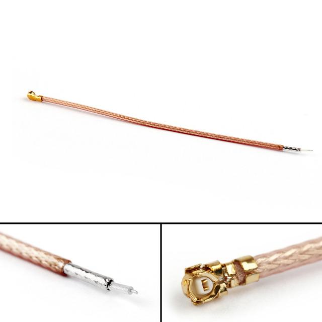 Areyourshop RG178 Cable Pigtail Jumper Cable IPX U.FL Female Jack Single-Head Connector 10cm 10Pcs