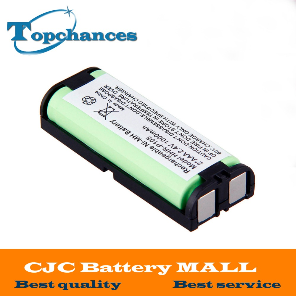 Hot-Selling HHRP105-HHR-P105 2.4V 1000mAh Ni-Mh Rechargeable Battery for Panasonic Cordless phone free shipping kjstar z07 5 black
