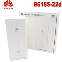 Unlocked New Huawei B618 B618S 22d Cat9/11 450Mbps 4G LTE CPE WiFi Router Support VoIP VoLTE 4G Wireless Router PK B315 E5186