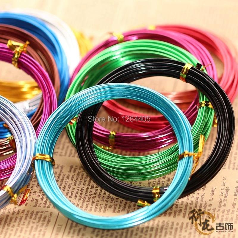 Craft Wires 2 Pcs Gold Sliver Aluminum Handmade Wire 10 m