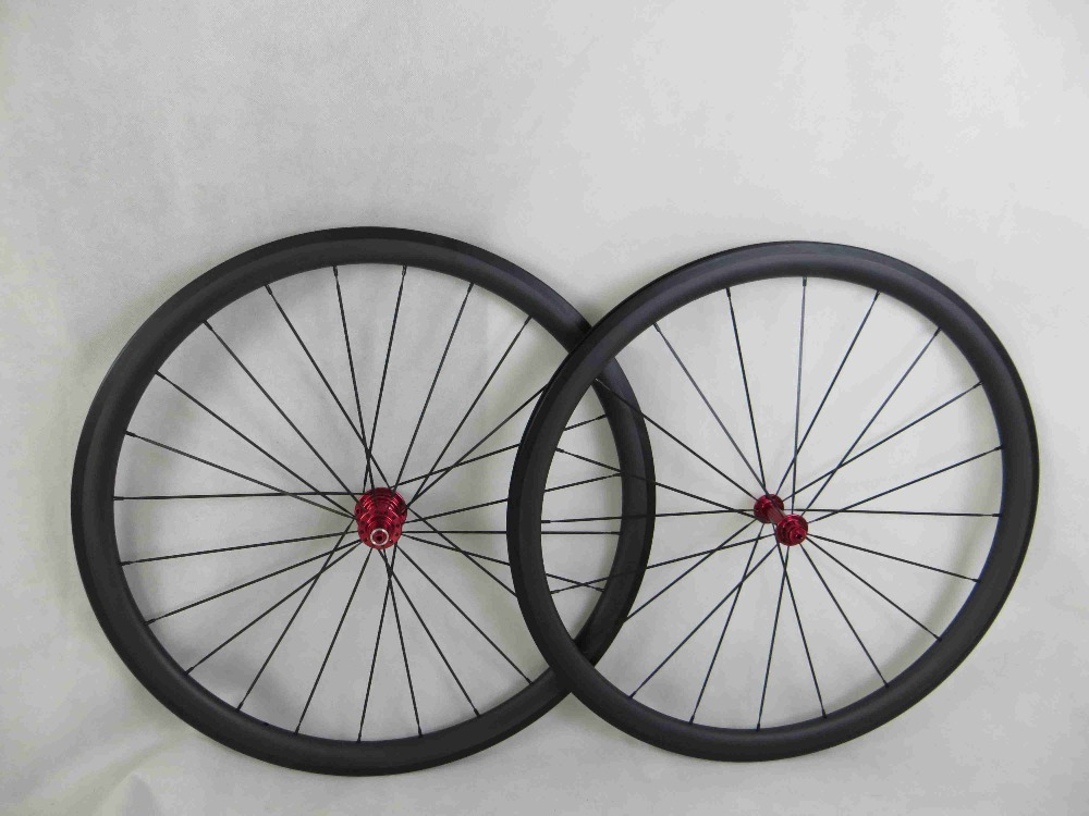 2015 lightweight 700C wokecyc UD Road bicycle carbon wheels 38mm clincher with powerway R13 hub black spokes nipples carbon wheels tubular clincher powerway r13 hub wheels 38mm 50mm 60mm 88mm road carbon bicycle wheels cheapest sale