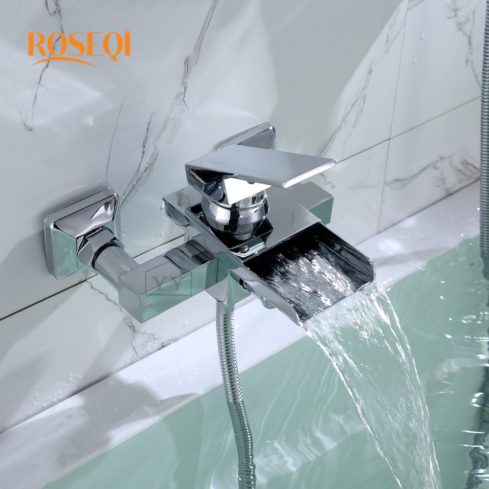 Luxury Single Handle Stainless Steel Rotate Tub Filler Bath ...