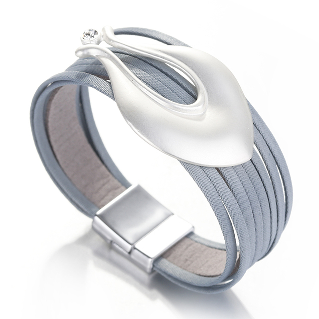 Boho Leather Bracelet Product Image