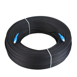 Image 3 - 200m câble extérieur SC Ftth Dromp Simplex monomode G657A cordon de raccordement à fibers optiques FTTH câble de raccordement à fibers optiques
