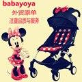 stroller Pram BABY YOYA Stroller Canopy Mat BIG HOOD WATERPROOF OXFORD Peekaboo stroller poussette