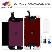 Hot Truth 1 PCS Grade AAA Screen For IPhone 5 5s 5c 6 6s LCD Display