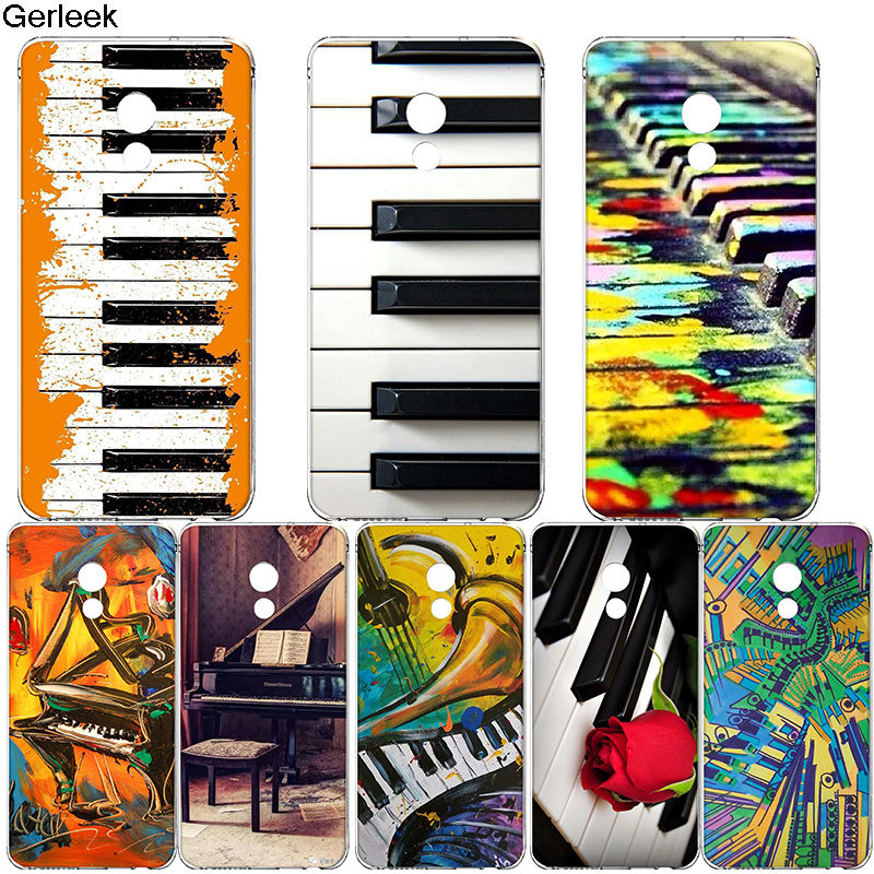 Helpful Gerleek Piano Keys Musical Lover Gift Phone Case For Meizu M6s M6 M3s M3 M5 M5s M5c Mini Cover Cleaning The Oral Cavity. Phone Bags & Cases