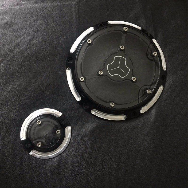 ФОТО Motorcycle CNC Aluminum Derby Cover & Timing Timer Covers For Harley 2004-16 XL SPORTSTER 883