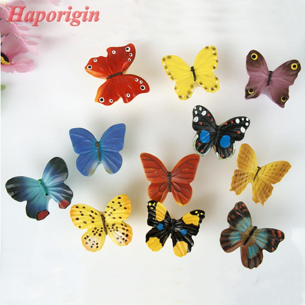 Butterfly Kids Cartoon Kitchen Cabinet Drawer Knob Cupboard