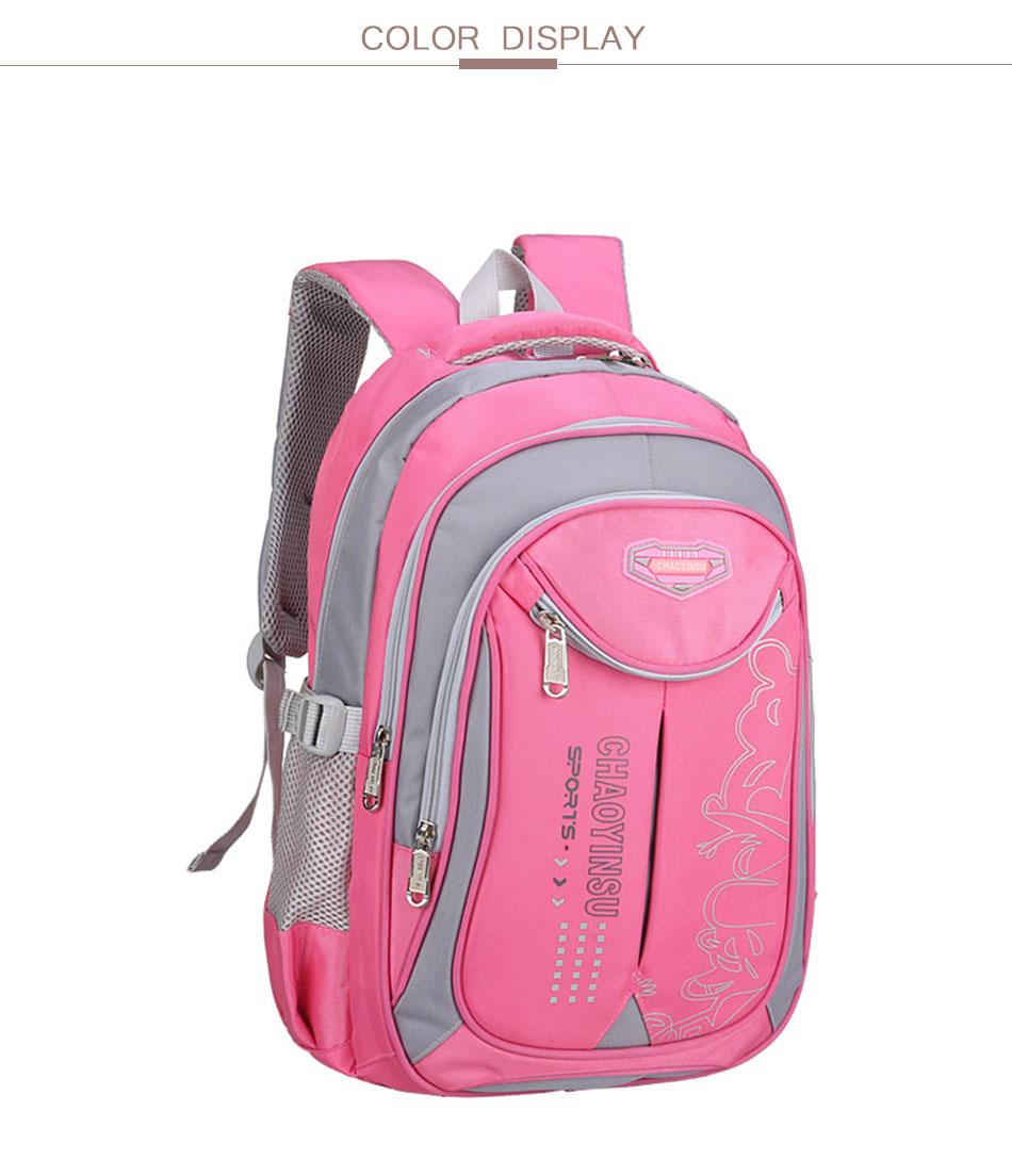 eb708c1825fe High Quality Backpack Schoolbag Fashion School Bags For Teenage Girls and  Boys Backpacks Kids Bag