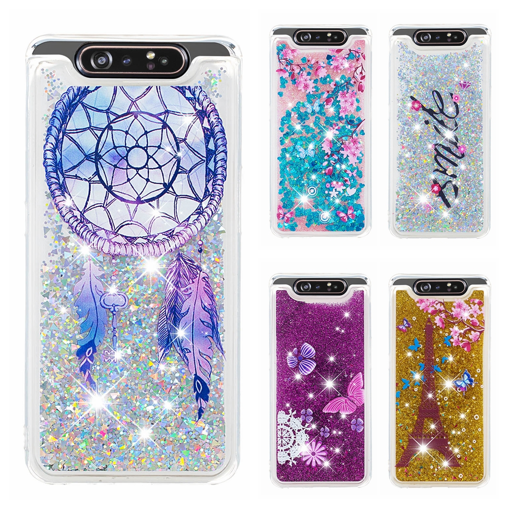 A80 A90 Glitter <font><b>Case</b></font> for <font><b>Samsung</b></font> A10 A20 A30 <font><b>A40</b></font> A50 A60 A70 A80 A90 <font><b>Case</b></font> Owl liquid <font><b>Covers</b></font> sfor <font><b>Samsung</b></font> <font><b>Galaxy</b></font> A10E A20E <font><b>Case</b></font> image