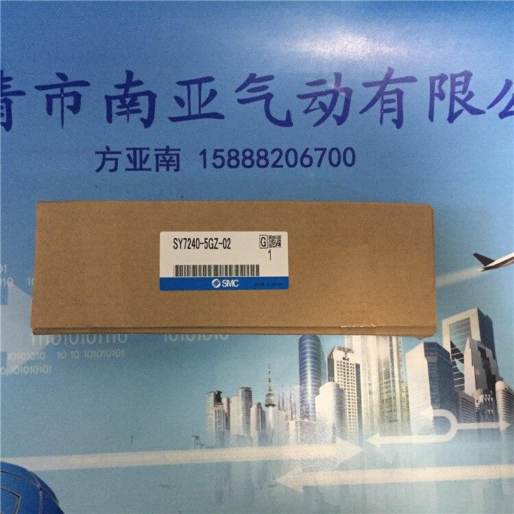 ФОТО SY7240-5GZ-02 SMC solenoid valve electromagnetic valve pneumatic valve air tools SY7000 series