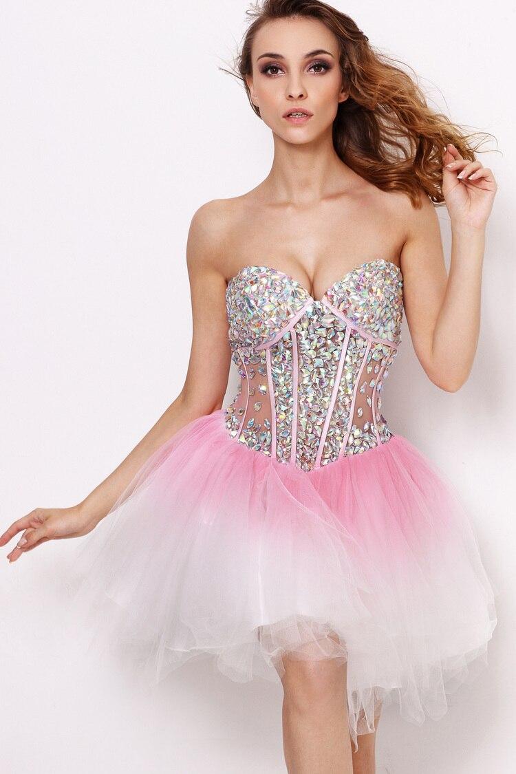 Popular Short Pink Corset Dress-Buy Cheap Short Pink Corset Dress ...