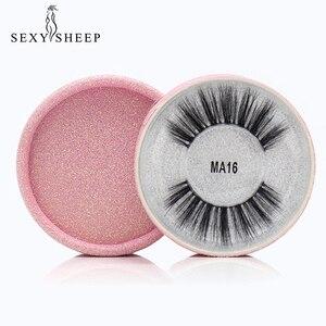 Image 5 - SEXYSHEEP 3D Silk protein False EyeLashes Handmade False lashes Natural Long Fake Lashes Curl Soft Fibroin Perfect packaging
