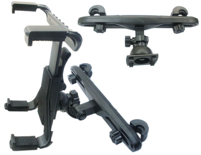 Rotatif Siège Arrière Pare-Brise D'aspiration Tablet GPS De Voiture Stands Pour ipad air, Pour ipad mini 2 3, Pour Galaxy Tab S2 9.7 8.0