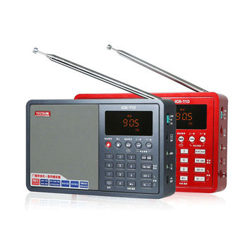 Радиоприемник TECSUN ICR-110, FM/AM, MP3, TF-Card 5