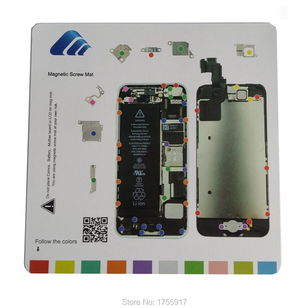 iphone 4 screw layout diagram gm fuel pump wiring professional mobile phone for 5c magnetic mat guide kit getsubject aeproduct