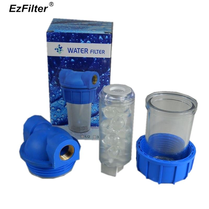 """Фильтр трубопровода фильтр стиральной машины посудомоечная машина против накипи редуктор для умягчителя воды фильтр 1/"""" медный порт"""
