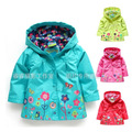 Topolino Brand,Children hoodies,new 2014,autumn clothing,baby girls jacket,children outerwear,windproof waterproof jacket