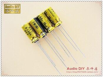 2020 hot sale 30PCS/50PCS Nichicon FW series 10uF/50V audio electrolytic capacitors free shipping maitech 3 x 5mm 16v 10uf electrolytic capacitors black 10 pcs
