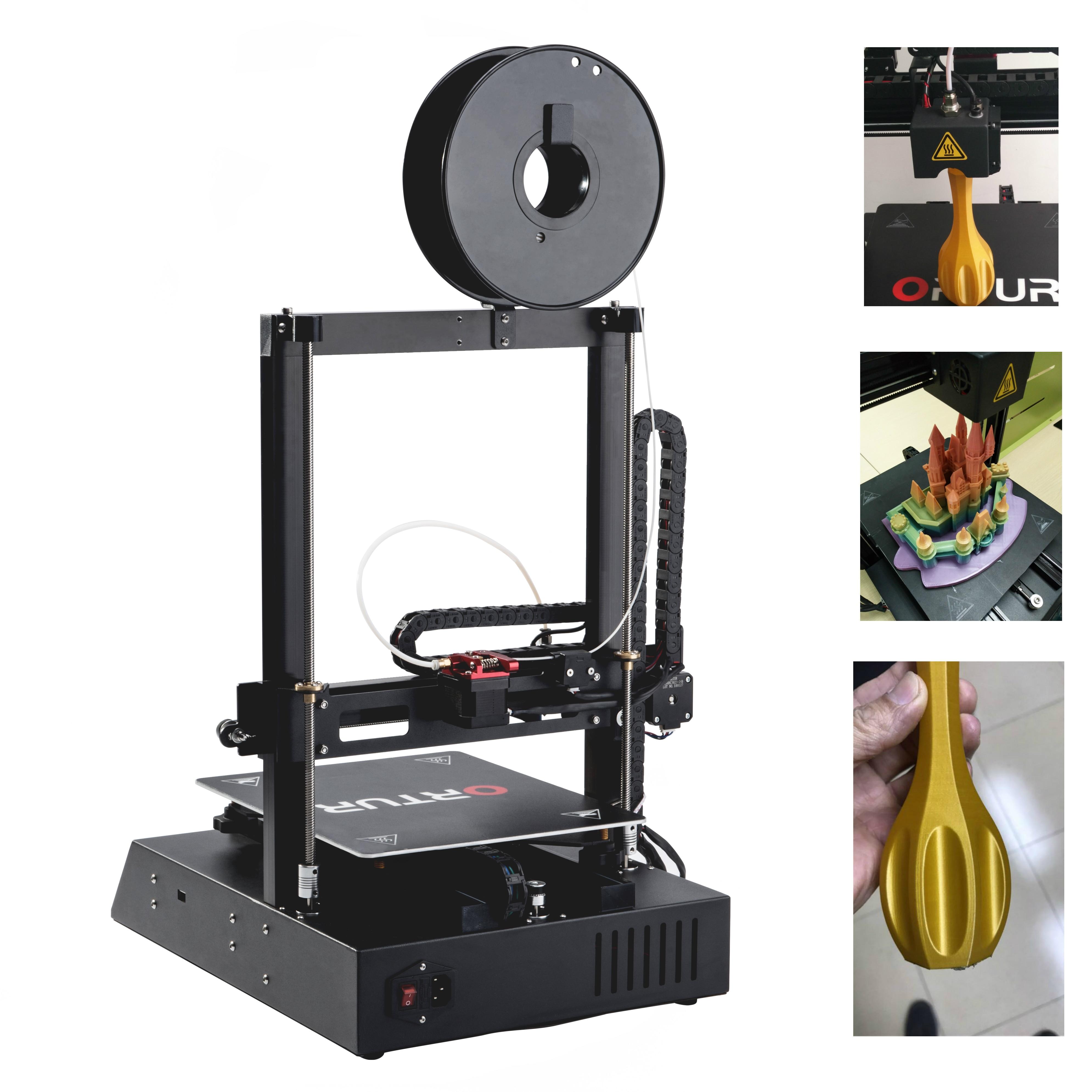 Free shipping Ortur4 3d Printer Full Metal Frame High Precision 3d Printer Kkit Imprimante Impresora Filament Runout Sensor 2