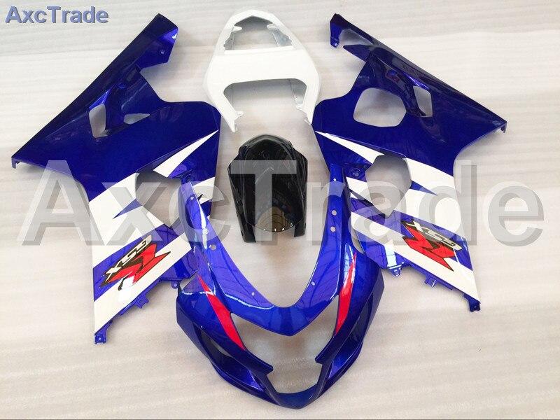 Motorcycle Fairings For Suzuki GSXR GSX-R 600 750 GSXR600 GSXR750 2004 2005 K4 04 05 ABS Plastic Injection Fairing Bodywork Kit custom road fairing kits for suzuki glossy flat black 2006 gsxr 1000 k5 2005 gsx r1000 06 05 motorcycle fairings kit