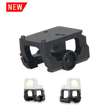 PPT Tactical airsoft accessories scope mount RMR red dot sight mount red dots sites riser mounts for mini red dot GZ24-0170 jj airsoft m2 red dot tan
