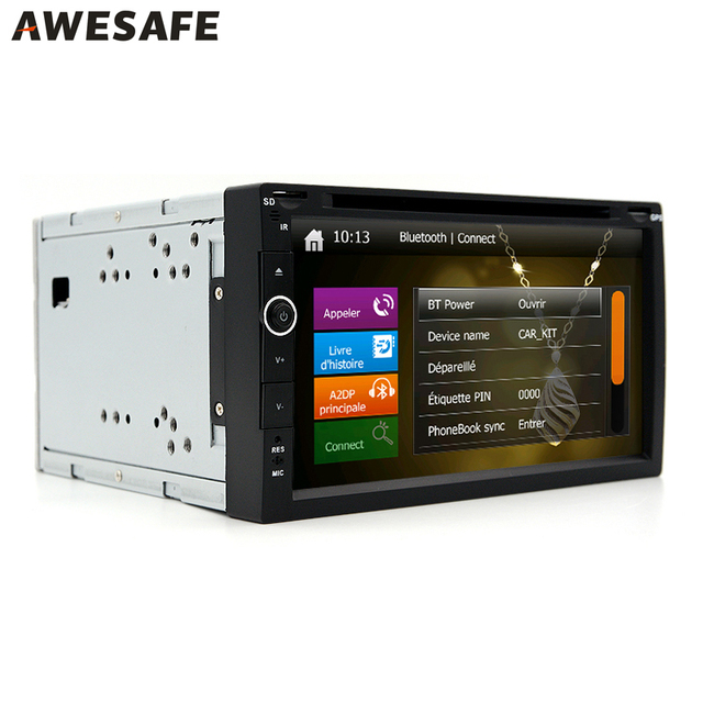 2 Din Gps 7  U0026quot Coches Reproductor De Dvd Radio Audio Gps Rds Bluetooth Wince 6 0 2din Car