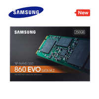 SAMSUNG SSD 860 EVO M.2 2280 SATA 250GB 500GB 1TB disco de estado sólido interno HDD Disco Duro M2 portátil PC de escritorio MLC PCIe M.2