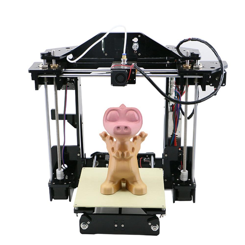 Высокая точность RepRap Prusa i3 рабочего DIY 3D-принтеры комплект Анет A8 A6 impresora  ...