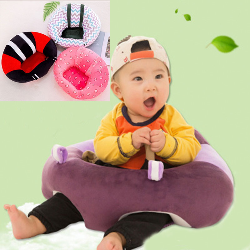 Plush Toys 0-2 Year Baby Rocking Chair Soft Chair Cushion Sofa  Kids Plush Sofa Seat Support Seat Sit Up PillowToy Infantil