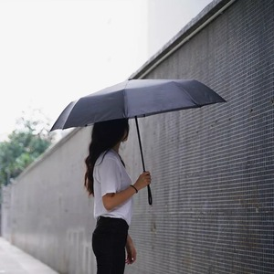 Image 3 - Youpin 접는 자동 우산 WD1 23 인치 강한 windproof 아니 필름 들어 갔어 방수 안티 자외선 태양 우산