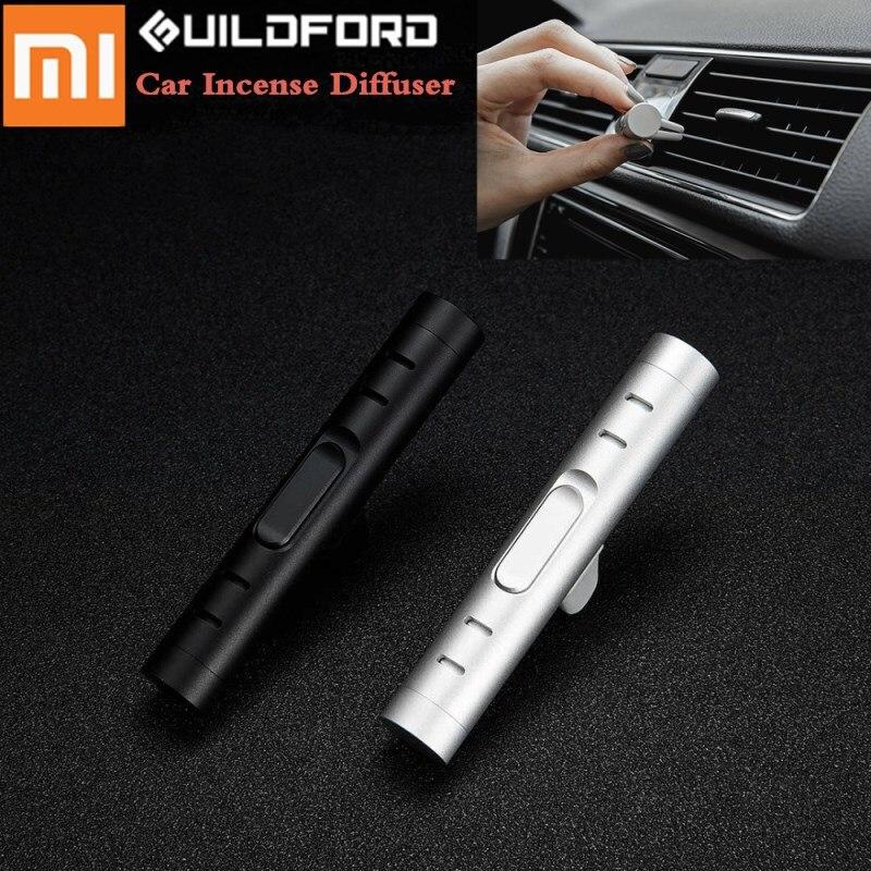 Nuevo Xiaomi Uildford coche incienso difusor ambientador Perfume de la abrazadera Auto ventilación Fragranc de coches de lujo aire acondicionado forVent Clip
