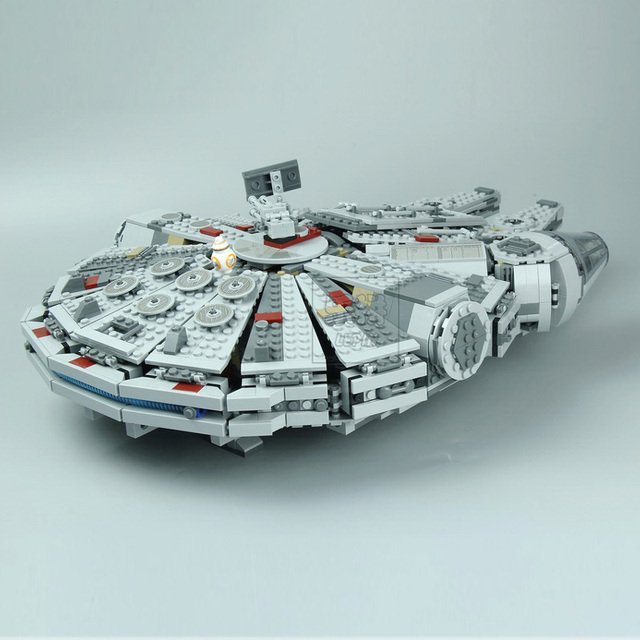 LEPIN 05007 Star Series Wars 1381pcs Millennium Falcon Toys Building Blocks Bricks Marvel Educational Toys Children Gifts 10467