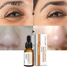 Face Serum Hyaluronic Acid Shrink Pores Firming Facial Essence Whitening Moisturizing Acne Treatment Oil-control CLOTHES OF SKIN цена 2017